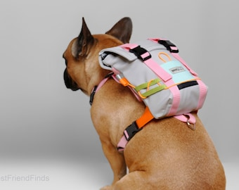 custom dog harness by BestFriendFinds Dog backpack harness dog harness french bulldog puppy harness best dog gift
