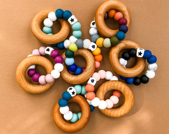 Featured listing image: Teether Rings | Mason Collection