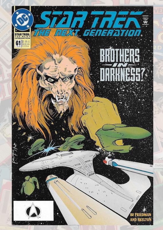 Star Trek The Next Generation #60 June 1994 DC Comics