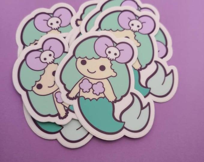 E-girl mermaid sticker