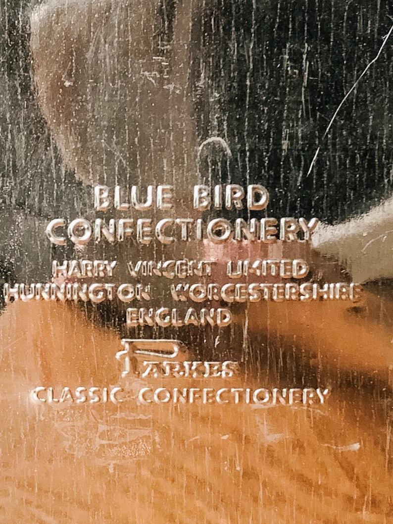 Vintage Blue Bird Confectionery Tin