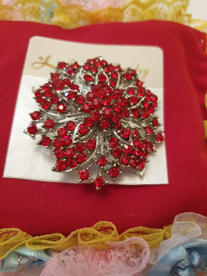 Diamante Brooches different styles available