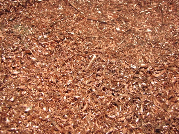 5LB Orgone Supplies Metal Art Turnings .999 Fine Copper Shavings