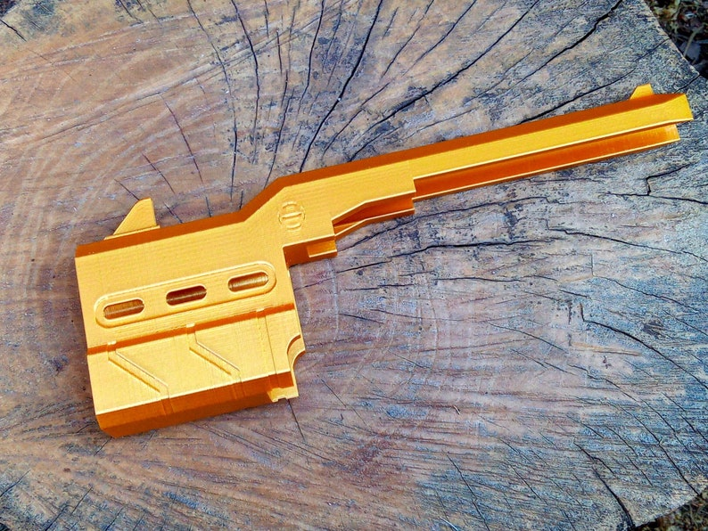 Blasters3D Proctor Barrel Mod for Nerf Zombie Strike HammerShot No Need for Tools nor Glue Slide On Friction Fit