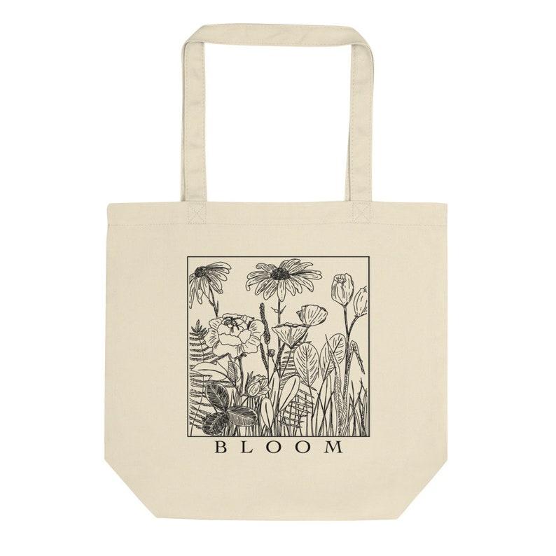 Bloom Organic Tote Bag