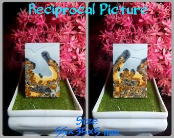 Landscape Image Size.34\u00d75 mm 100/% Natural Guarantee Cabochons Maligano Jasper