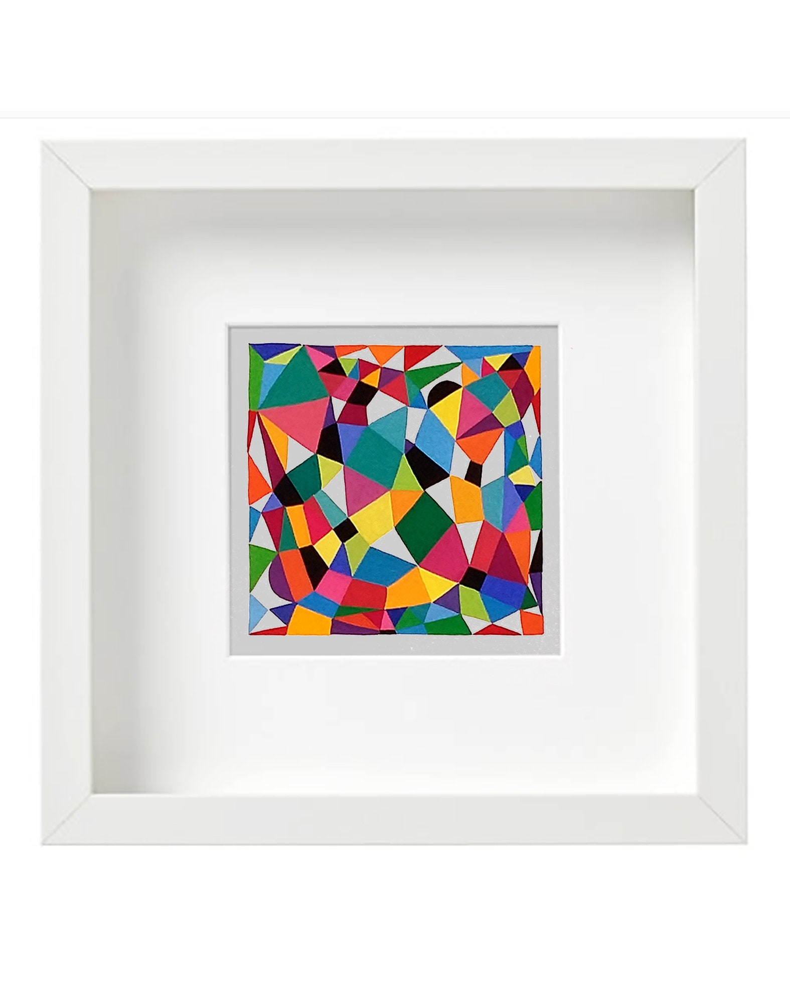 Grid_001, small geometric illustration - product images  of