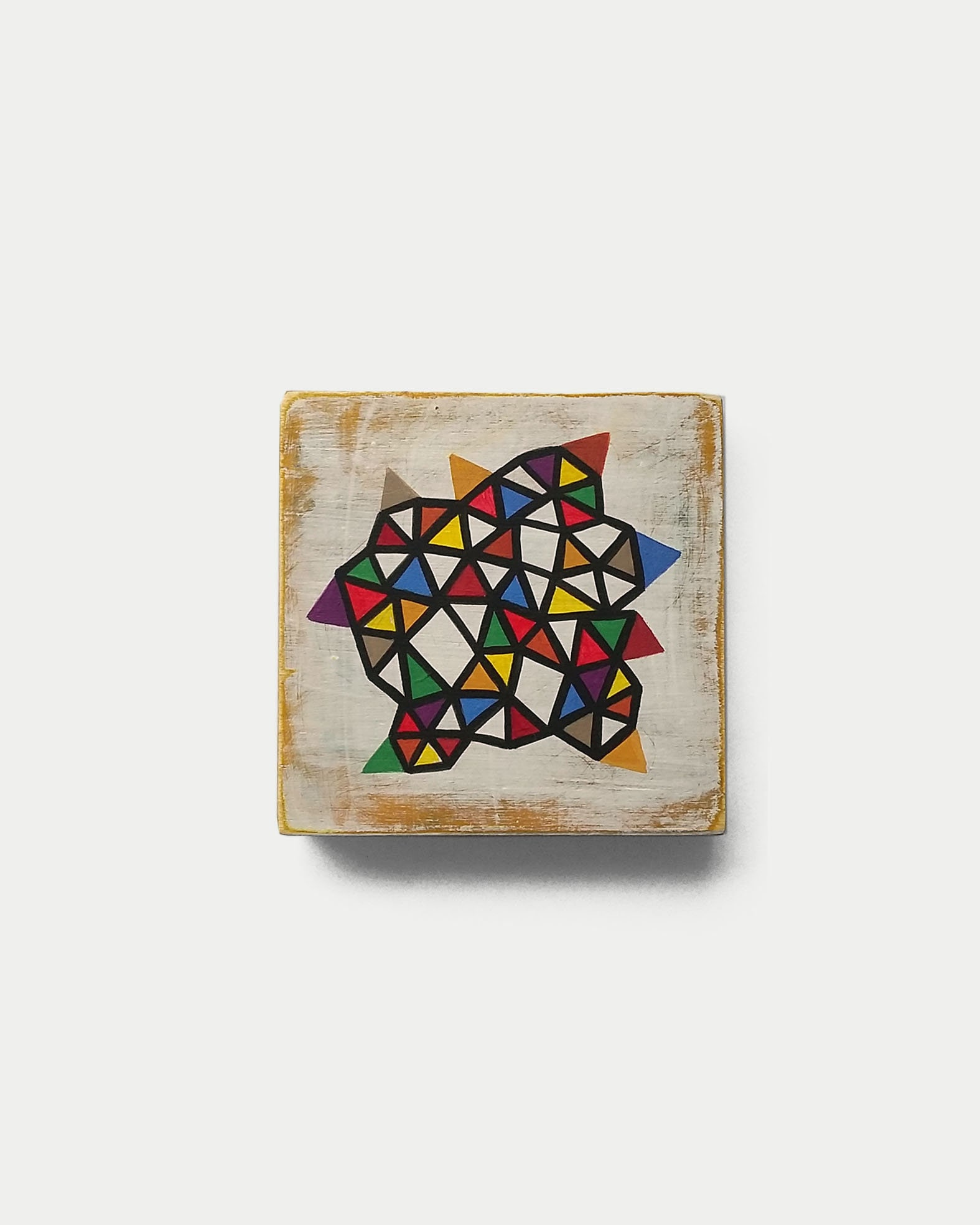 Slice_001, contemporary geometric art painting - product images  of