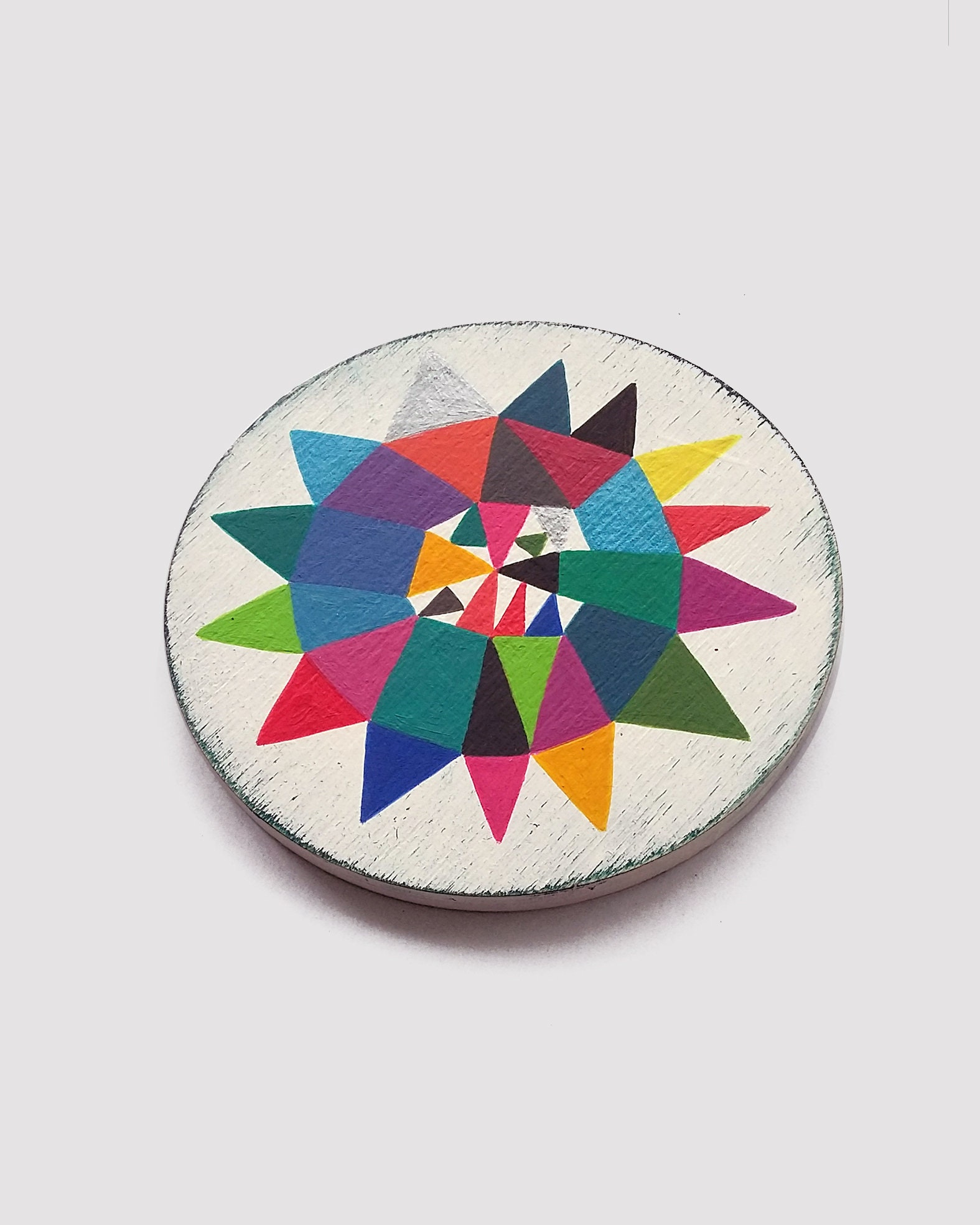 Star_007, small colourful geometric art - product images  of