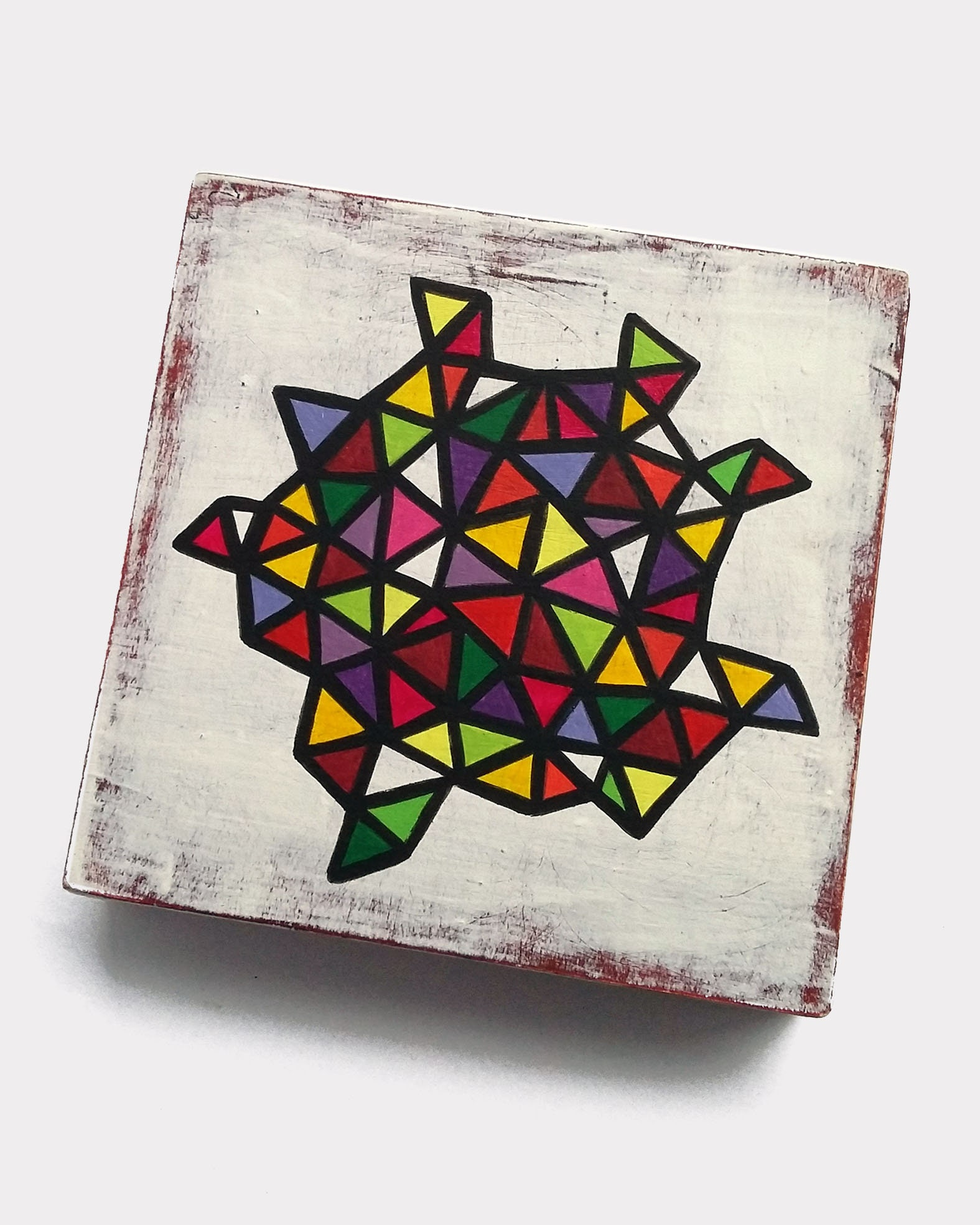 Slice_002, small geometric abstract painting - product images  of