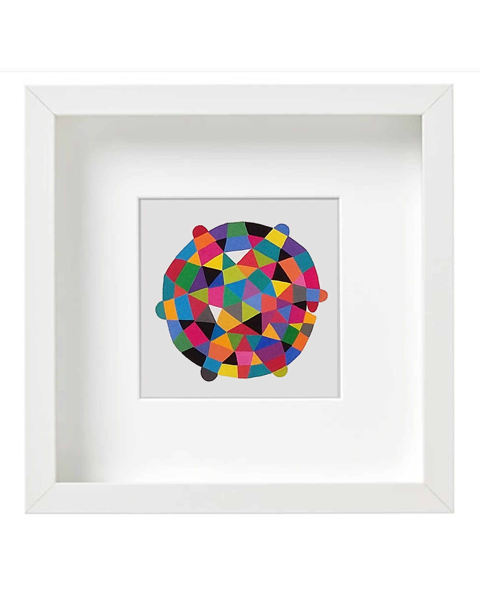 Round_shape_001, original abstract artwork - product images  of