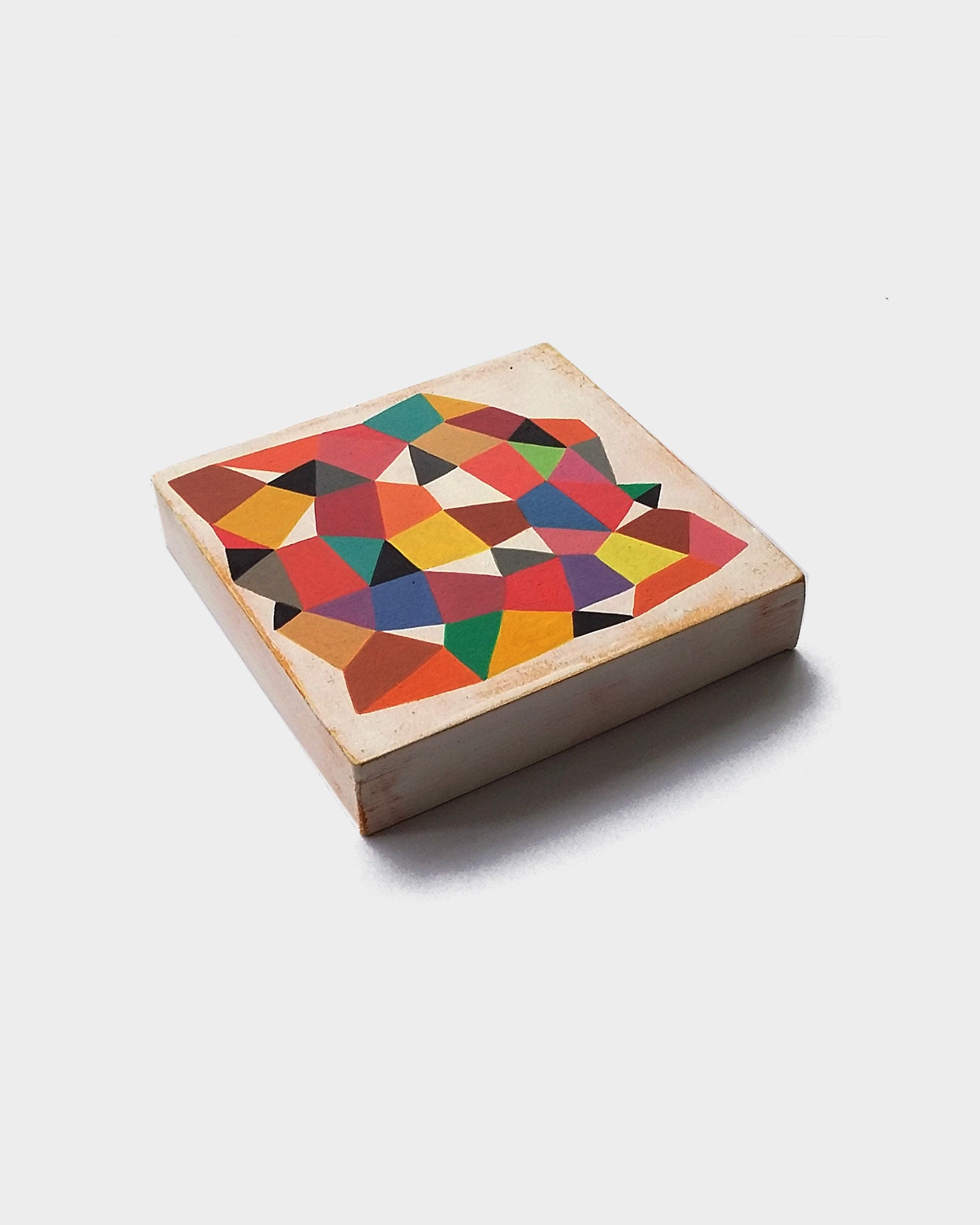 Mesh_001, original colourful geometric art - product images  of