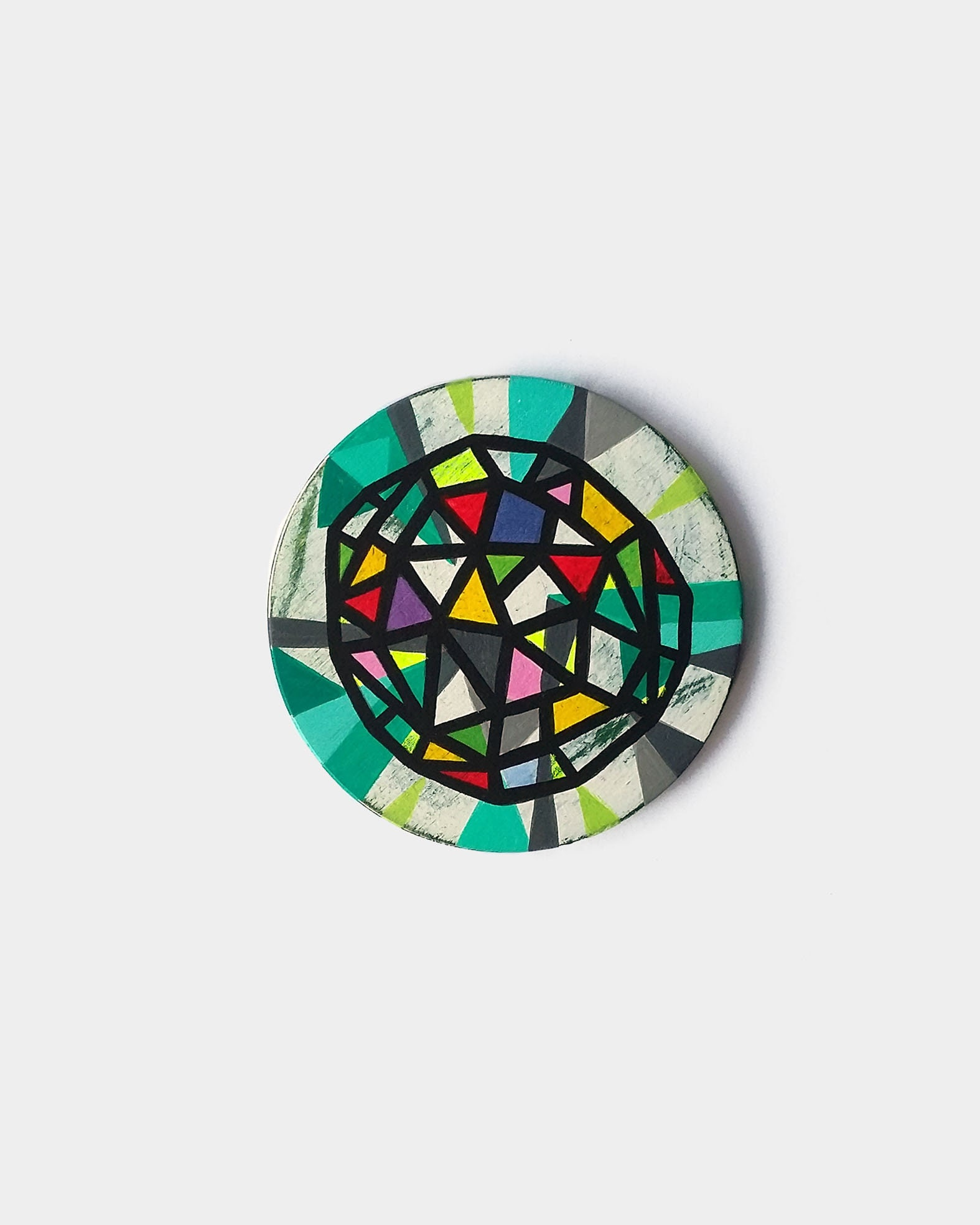 Net_003, abstract geometric miniature artwork - product images  of