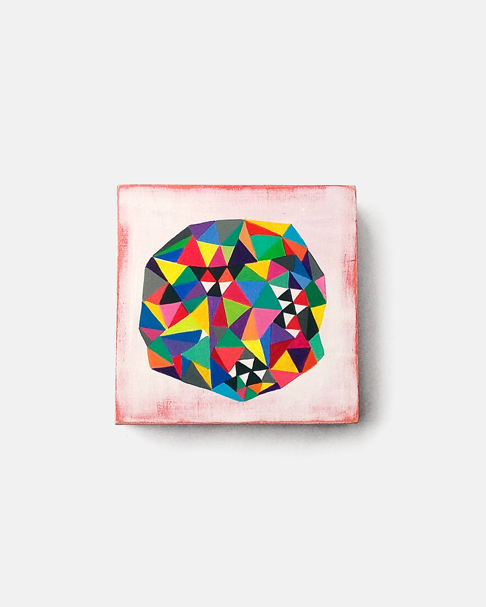 Microbe_001, colourful geometric abstract painting,  - product images  of