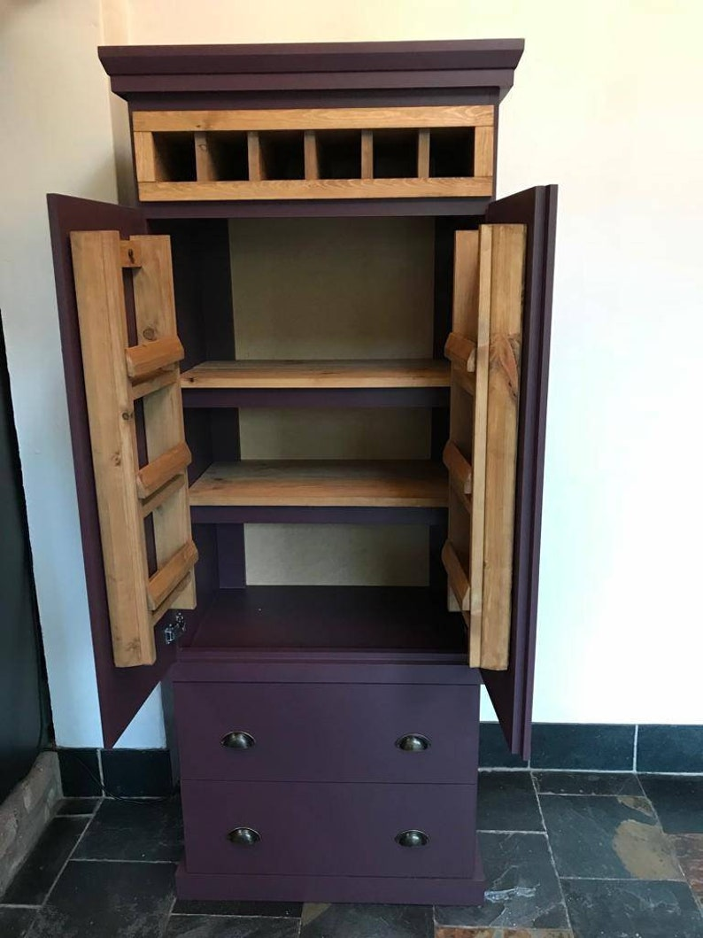 The Solway Kitchen Pantry Larder Storage Food Cupboard Cabinet Handcrafted Deposit Payment Available Custom Bespoke Furniture Made To Order