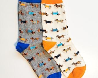 Dachshund Socks Wahoo Wieners Dox Sox