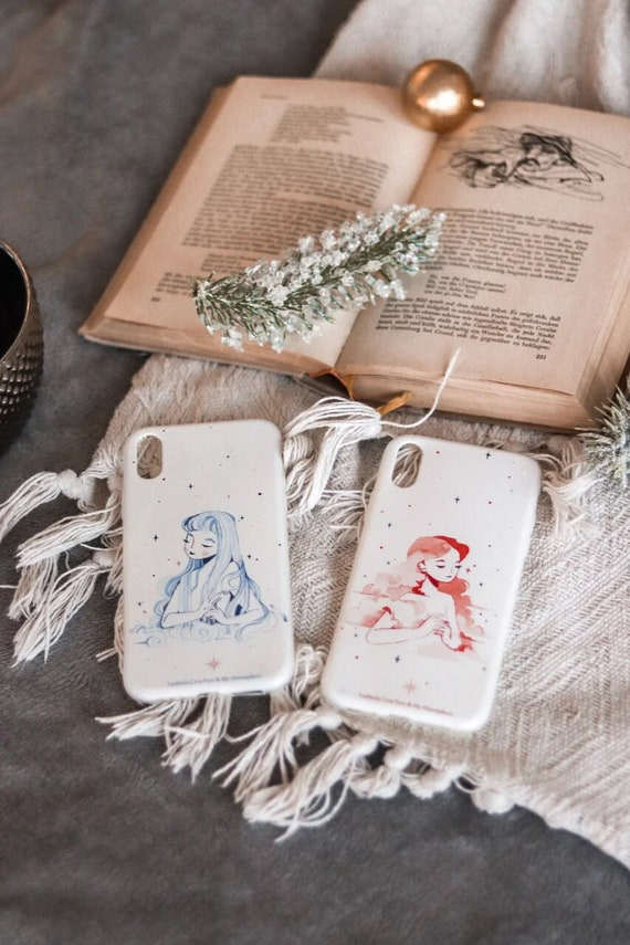 Camille Fourcade Elemental Girls Dreamy Collection Phone Phone Cases Personalized Gift