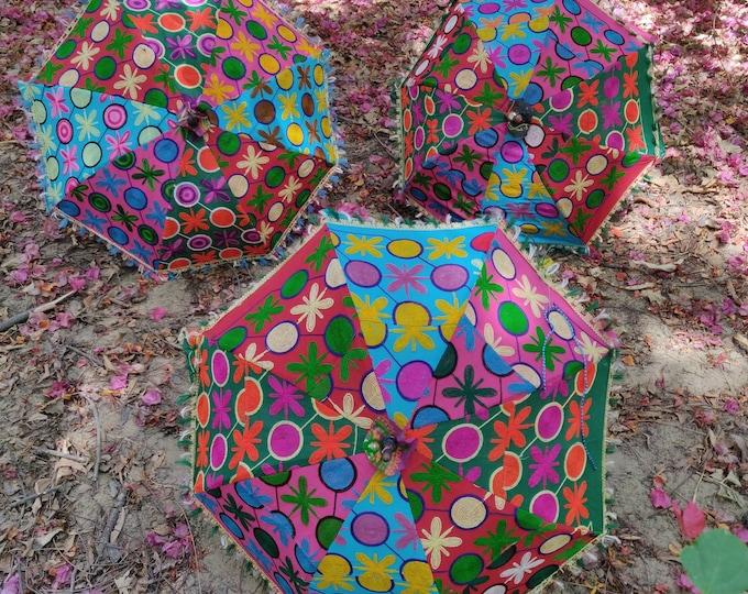 10 pcs lot Indian Event Multi designed parasols indian wedding decorations Umbrellas Event Henna Decorations Indian Style party Decor