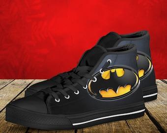 JOKER (1989 BATMAN Movie) Converse All Star Shoes Size 11