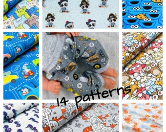 Mix and match, pants in variety of  colours , 15 16 and 17 inch doll clothes, 38 to 43 cm doll clothes,