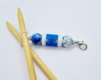 Beautiful NEEDLES Stitch Markers//Charm Counter Crochet Knitting Gift valentine