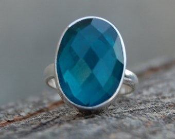 Details about  /Neon Apatite Gemstone Jewelry Rose Color 925 Sterling Silver Ring