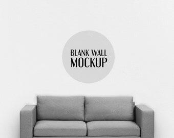 Strange Living Room Wall Mockup Minimalist Blank Wall Mockup Machost Co Dining Chair Design Ideas Machostcouk