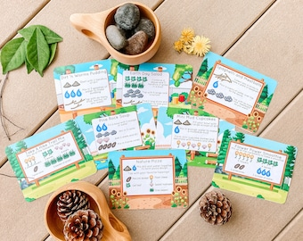 Mud Kitchen Recipe Cards - Open Ended Play Printable (Digital Download)