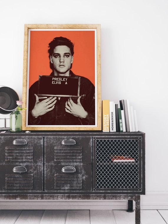 Ozzy Osbourne Wood PrintCelebrity MugshotBooking Photo Mug Shot Pop Art