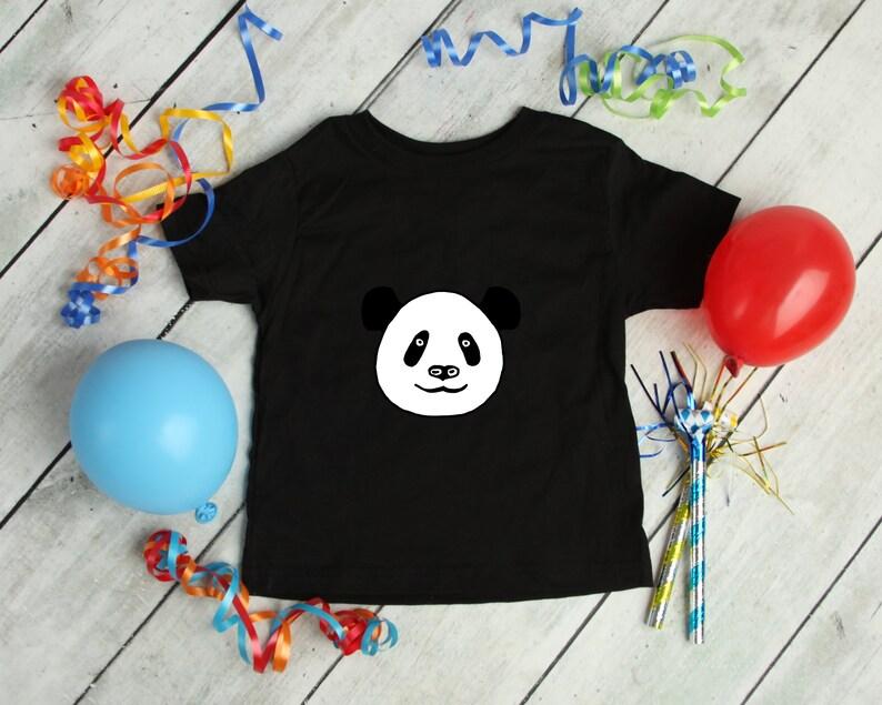 Panda Bear Kids Boy Girl T-Shirt