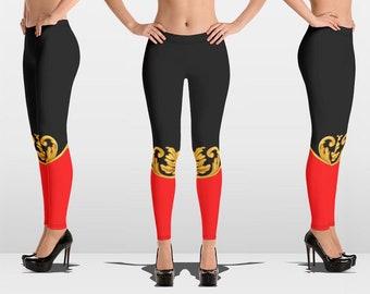 e340c783b9c0c Workout Leggings, Yoga Leggings, Versace Inspired, Designer Leggings