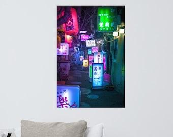 Neo Tokyo Neon Sign Overload