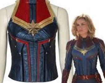 Captain Marvel Costume Etsy