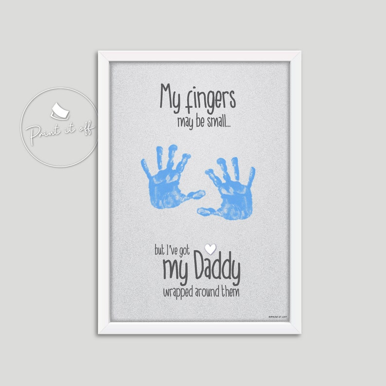 My Fingers May Be Small Daddy Wrapped Around Them Etsy