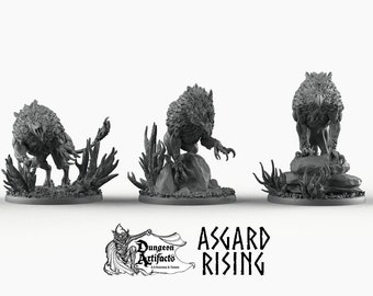 Keythongs - Asgard Rising Wargaming Miniatures Games D&D Seahorse, DnD, Pathfinder, SW Legion - Griffons, Griffins, Gryphons
