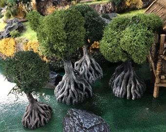 Tabletop 3d trees   Etsy