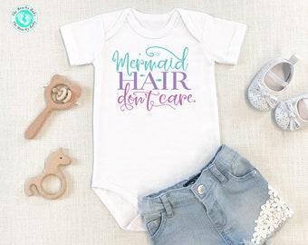 Newborn Baby Onesie Personalized Mermaid Onesie Mermaid Baby Tee Baby Girl Onesie Cute Mermaid Baby Onesie\u00ae Baby Shower Gift