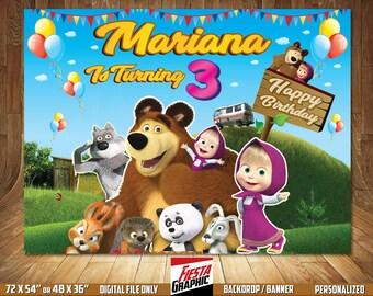 8471863e879a5 Masha and bear | Etsy