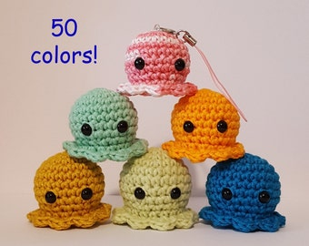 10% off...TOY: Squid Amigurumi Crochet Toy Amigurumi squid Crochet squid Crochet  sea creature Crochet anim…   Crochet fish patterns, Crochet fish, Crochet  amigurumi   270x340