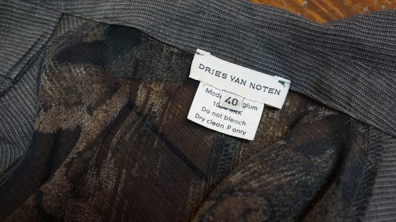 Dries Van Noten silk cardigan, dries van noten dr… - image 7