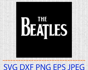 The beatles svg | Etsy