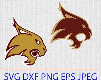 Bobcats Logo Etsy