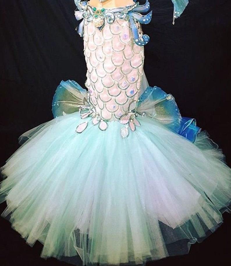 Mermaid Mermaid Corset Mermaid Outfit Mermaid Tutu