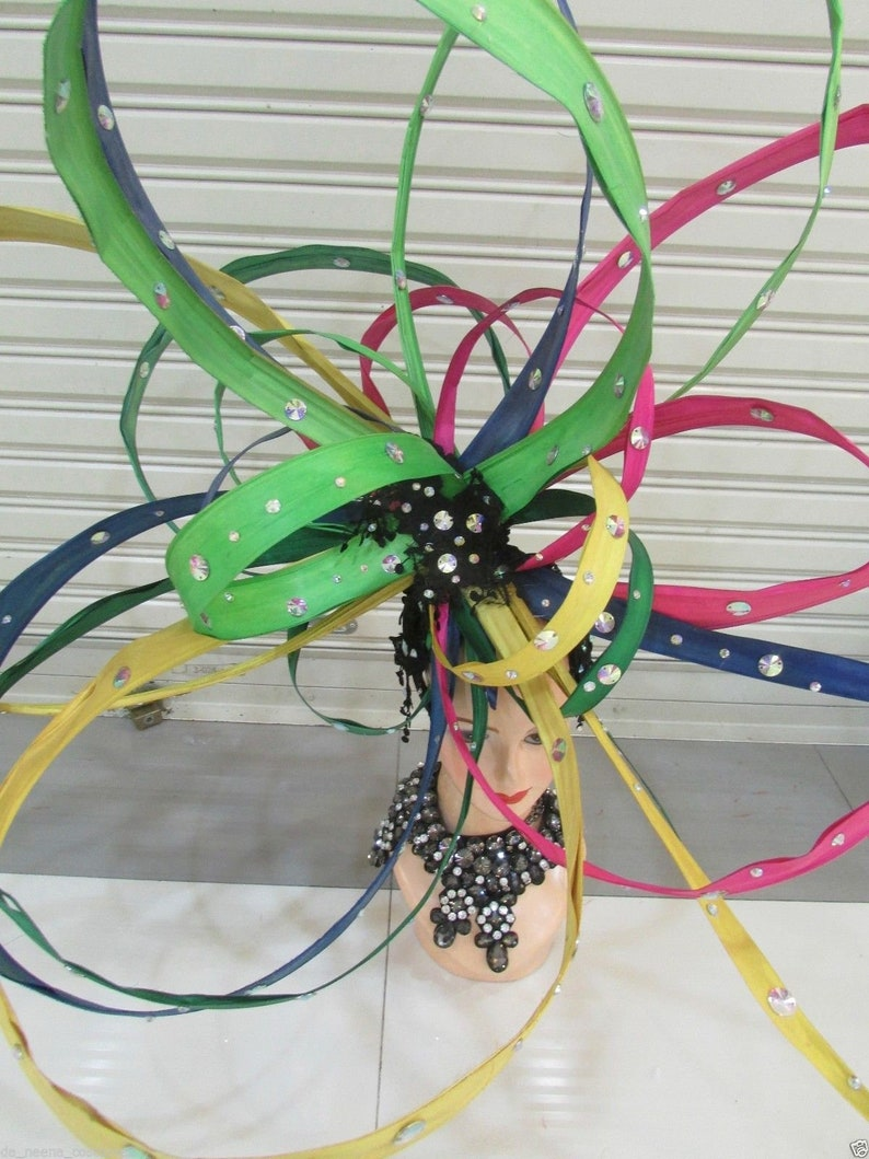DaNeeNa H191 Queen of Circle Crystal Showgirl pageant Headdress