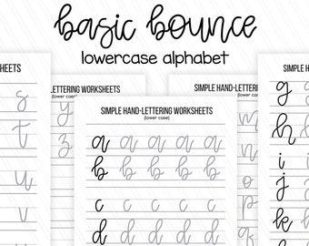 photo regarding Printable Hand Lettering Practice Sheets titled Cost-free Letter I Hand Lettering Alphabet Prepare Worksheet All
