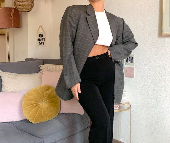 oversized Burberry blazer