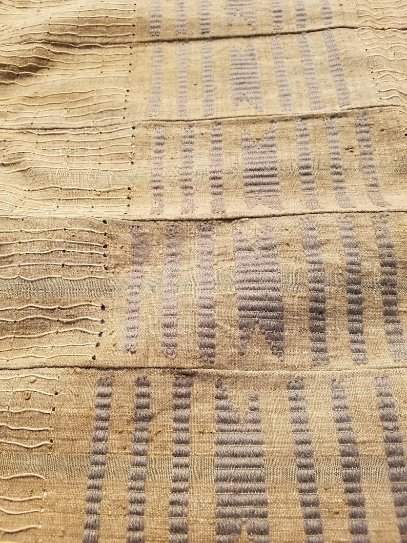 Vintage Yoruba Aso oke fabric