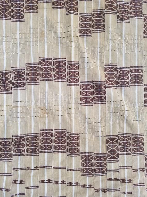 Vintage Yoruba Aso Oke