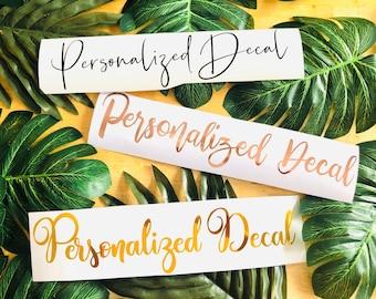 Personalized Decals | Glass Decals | Sticker | Starbucks Cup Decals | Mirror Decals | Decals | DIY | Cup Decal | Custom DIY | Custom Decals