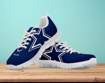 7f2c8283df1 Dallas cowboys Fan Unofficial Running Shoes/ Women/ men/ kids sizes